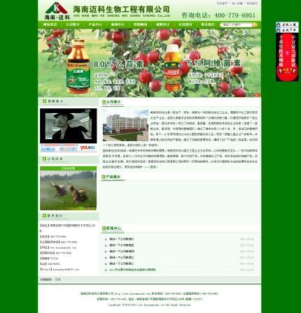 2011年3月28日海南迈科企业站完工-站生又一作品